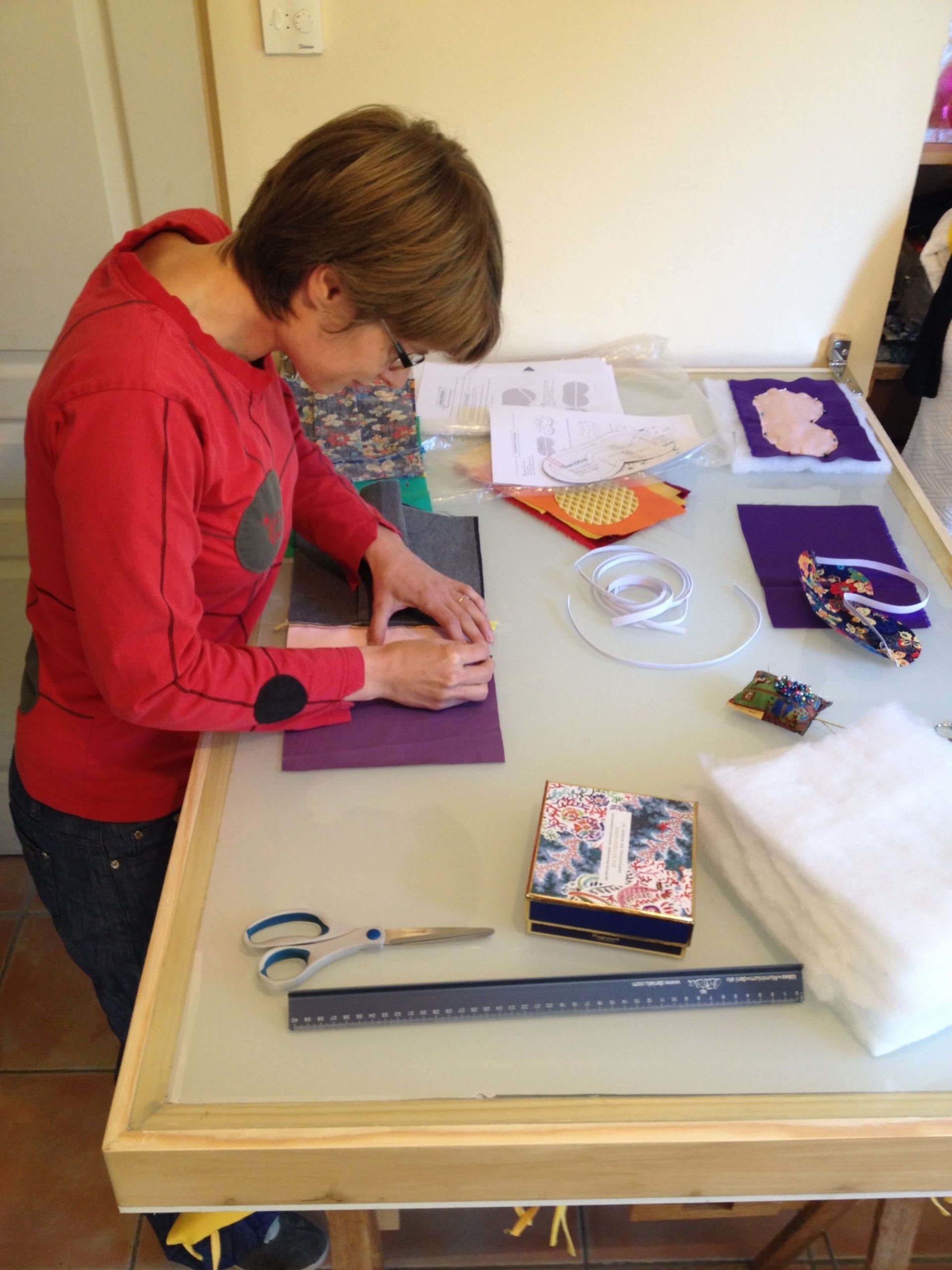 RHAPSO Couture - en plein travail