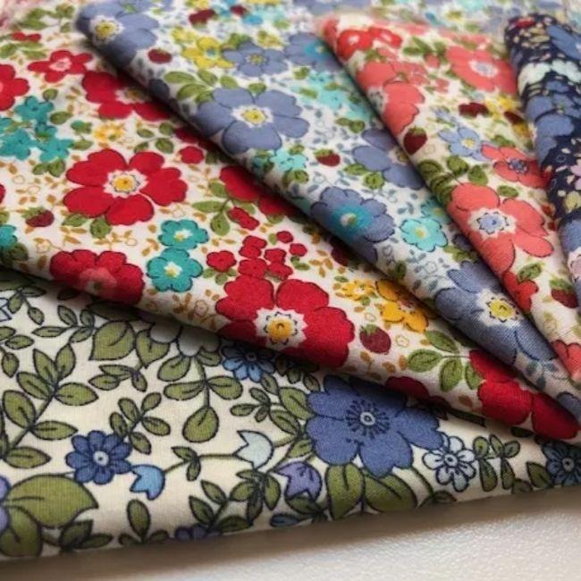 tissus Sigrid's Fabric pour Rhapso Couture impression fleurs
