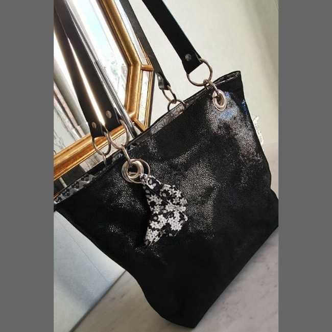 Rhapso Couture, Alcyon sur un sac Les Caprices de Kat