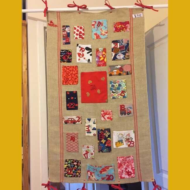 Rhapso Couture, calendrier de l'avent chez Anne-Laure