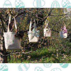 RHAPSO Couture, famille OSTARA des sacs lapin pour Pâques
